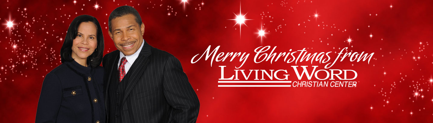 Drs. Bill and Veronica Winston Christmas Theme for Living Word Christian Center Website